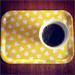 LIten bricka gul på Instagram
