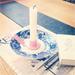 Ljushållare ljusrosa på Instagram