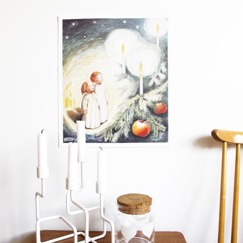 Månadstavla av Kerstin Frykstrand December