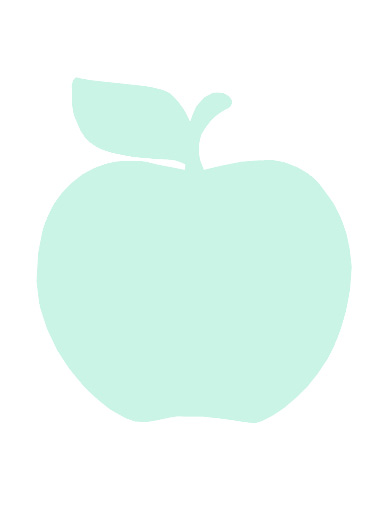 Kort äpple av Monalisas.