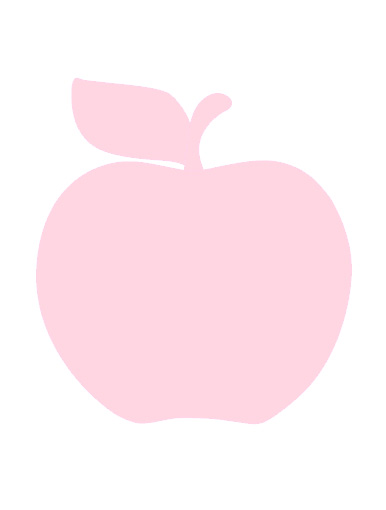 Äpple rosa av Monalisas.