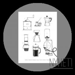 Kaffeposter Barista