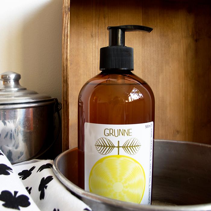 Ekologiskt diskmedel citron från Grunne Produktion