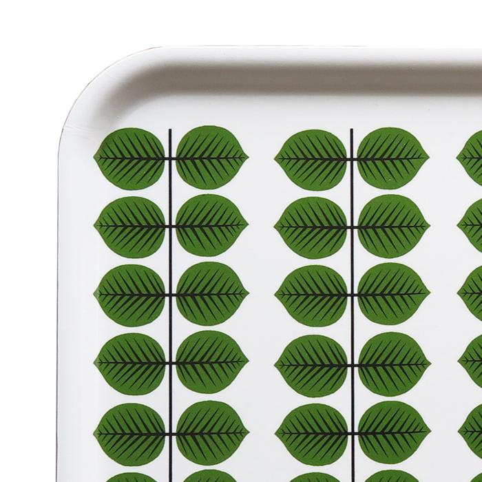 Liten fyrkandig bricka med mönster Berså av Stig Lindberg