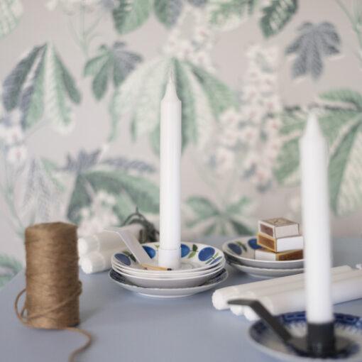 Ljushållare till assiett vit Holde Isolde från Dekoop