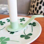 Ljushållare till assiett grön