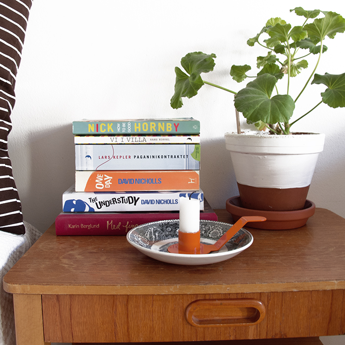 Ljushållare till assiett orange från Dekoop
