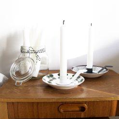 Ljushållare till assiett vit från Dekoop