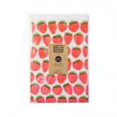 Presentpapper jordgubbar