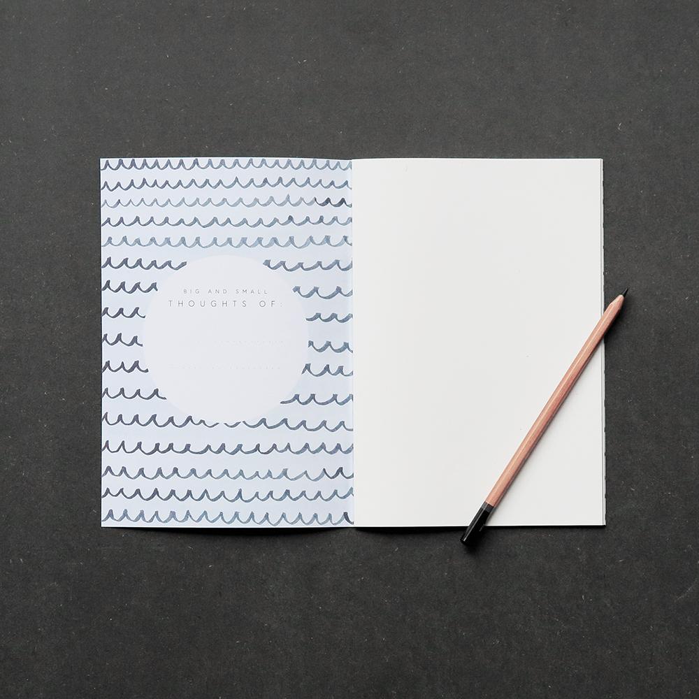 Anteckningsbok med valar av Linda Jäderberg, Mörka moln