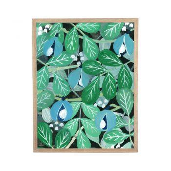Poster Flora muskot av Linda Jäderberg