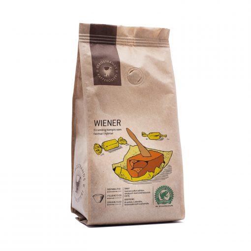 Smaksatt kaffe Wiener smörkola och vanilj från Bergstrands Kafferosteri