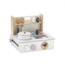 Kök modell mini för den lilla kocken med tillbehör och kastruller från Kids Concept