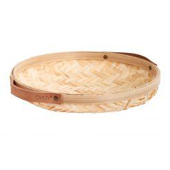 Rund brödkorg korg i bambu från Oyoy Sporta