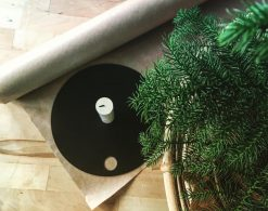 Ljushållare i plåt från Ingeknas Design