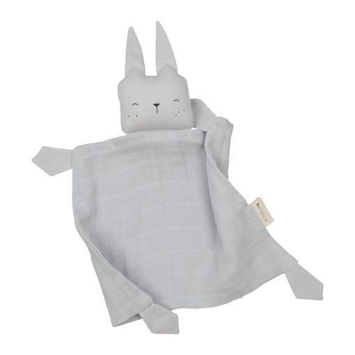 Snuttefilt grå kanin Animal Cuddle Bunny Icy grey från Fabelab