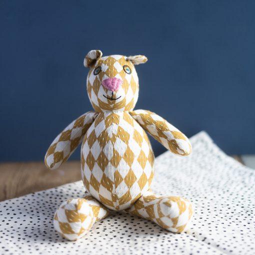 Gosedjur nalle Fair trade Circus teddy