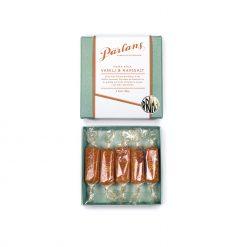 Kola från Pärlans konfektyr Vanilj & Havssalt 5 kolor