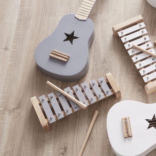 Xylofon grå från Kids concept