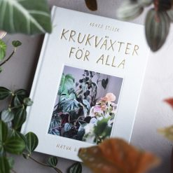 Bok Krukväxter för alla av Agnes Stubner grundare av Facebook gruppen Växtgäris