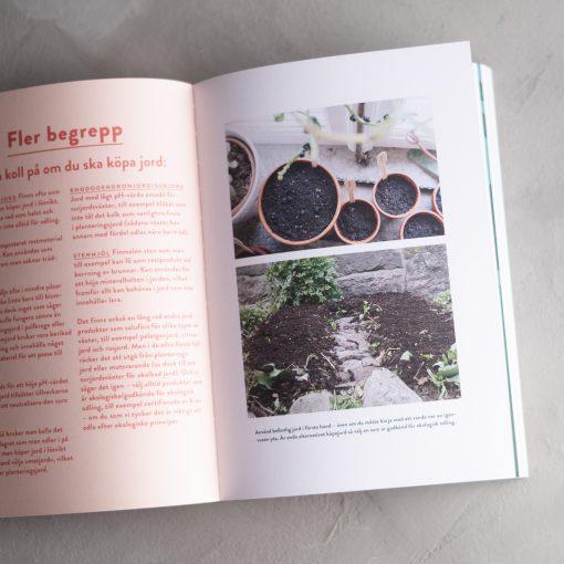 Bok om odling på liten yta - Spenat i stan av Anna Rökaeus och Olof Söderén