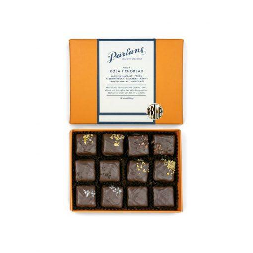 Kola i choklad från Pärlans Konfektyr i Stockholm