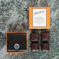 Kola i choklad från Pärlans Konfektyr i Stockholm Trippelchoklad