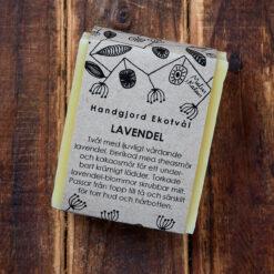 Handgjord ekologisk tvål Lavendel från Malin i Ratan