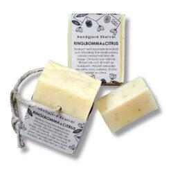 Ekologisk handgjord tvål Ringblomma & Citrus från Malin i Ratan