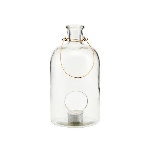 Ljuslykta i glas för värmeljus Frej från House Doctor