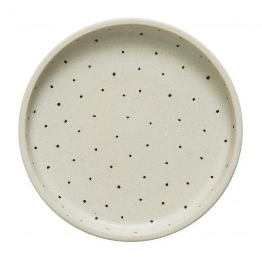 Prickigt fat i keramik Why not från OYOY
