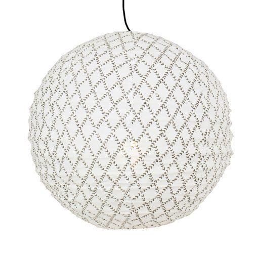 Lampskärm i tyg Espalier från Afroart