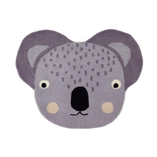 Rund matta med koala från OYOY