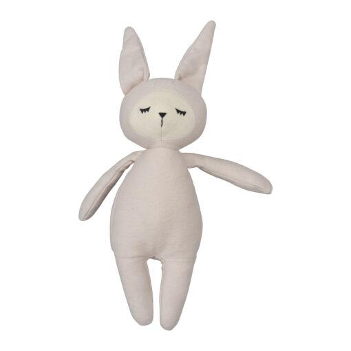 Ekologiskt gosedjur kanin Buddy Bunny ljusrosa från Fabelab