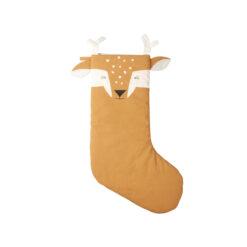 Julstrumpa i ekologisk bomull Silly fawn från Fabelab