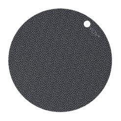 Prickigt tallriksunderlägg i silikon Dots från OYOY