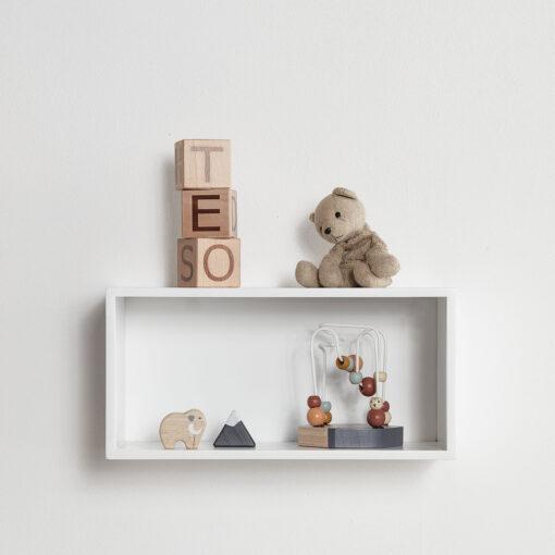 Bokstavsklossar i trä från Kid's Concept