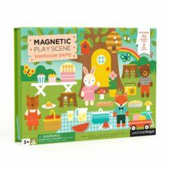 Magnetiskt lekset Treehouse party från Petit Collage