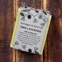 Ekologisk handgjord tvål Shea & Avokado från Malin i Ratan