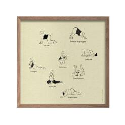 Poster Yoga från Fine Little Day