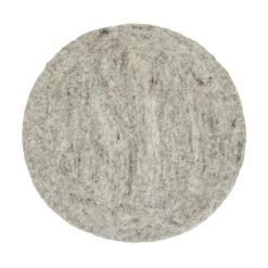 Prickig sittdyna i handtovad ull från Afroart
