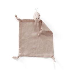 Snuttefilt Dino i linne från Kid's Concept