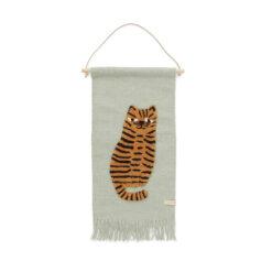 Väggbonad till barnrummet Tiger från OYOY