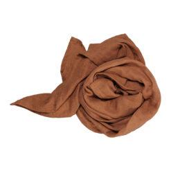 Filt swaddle i ekologisk bomull roströd kanel Cinnamon från Fabelab