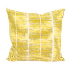Kudde Lemongrass gul från Afroart