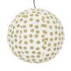 Lampskärm i tyg Big Dot från Afroart