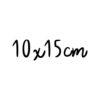 10x15cm