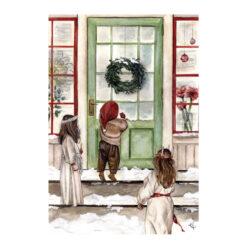 Månadskort december med motiv av Kajsa Visual