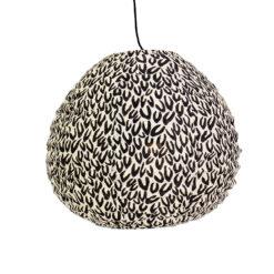 Lampskärm i tyg Cone Drop XS från Afroart