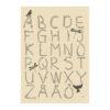 Poster med bokstäver och alfabetet ABC från Kajsa Visual